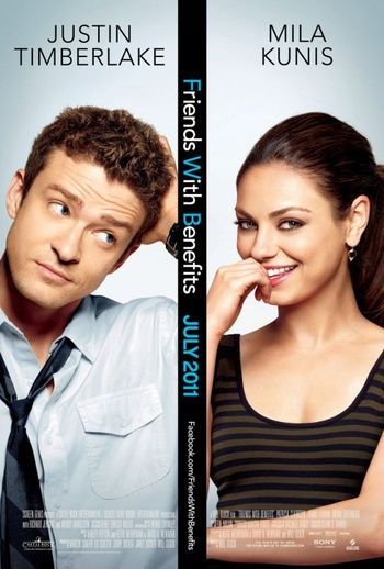 Friends With Benefits starring Justin Timberlake & Mila Kunis - Mango Poison Striped Mini Dress