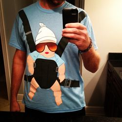 The Hangover Baby Carrier T-Shirt - JKrums