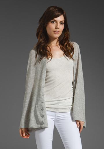 Line The Travel Companion Blanket Sweater in Retro Marl