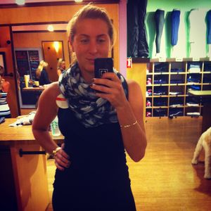 Lululemon Athletica Om Your Heart Out Scarf