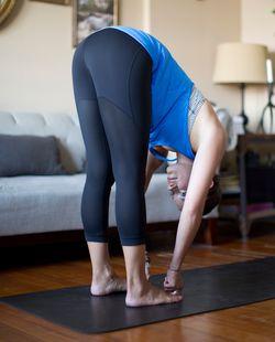 Lululemon Athletica Journey Crop Yoga Pants