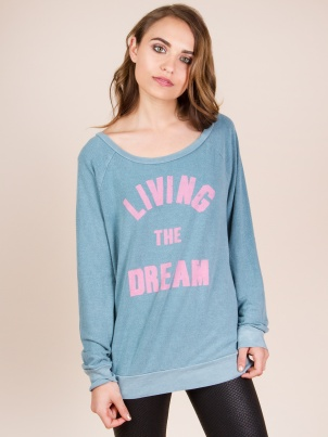 Sol Angeles Living the Dream Pullover Sweater