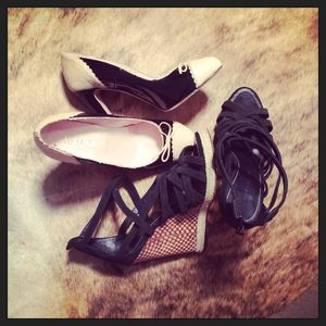 Gilt Groupe Red Valentino heels Barbara Bui wedges designer shoes