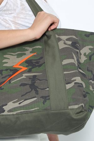 JET John Eshaya Embroidered JET Bag Camo
