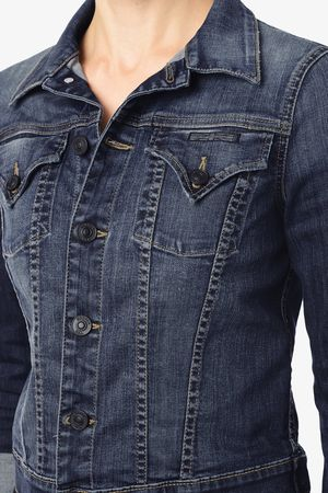 Hudson Signature Jean Jacket in Glam 11819