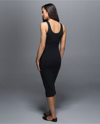 Lululemon Athletica Noir Dress Back