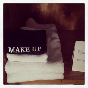 Ace Hotel Palm Springs Make Up Hand Towel