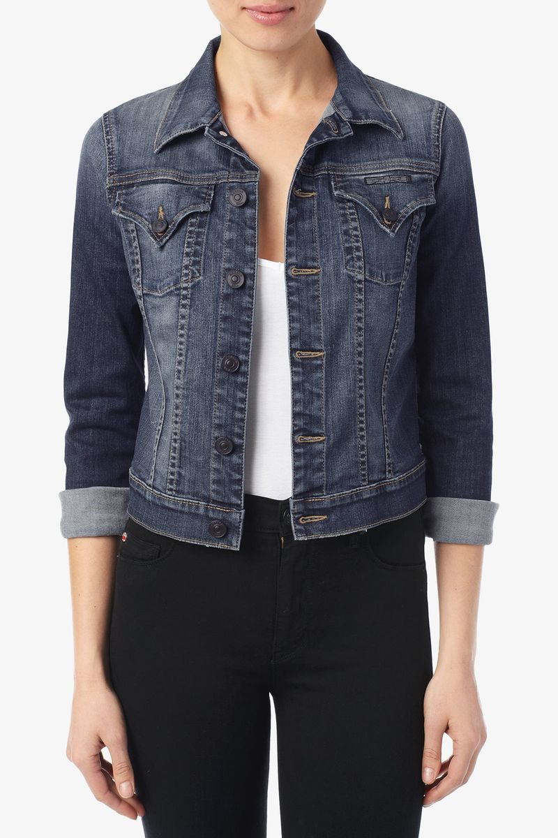 Hudson Signature Jean Jacket in Glam 11819 1