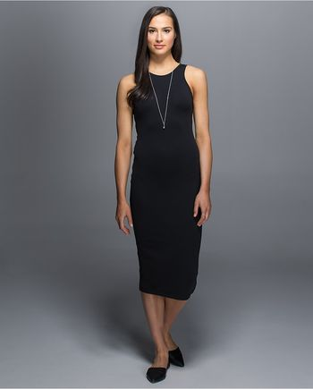 Lululemon Athletica Noir Dress Front