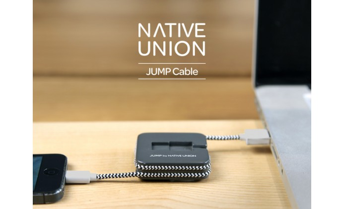 Native Union JUMP 2-in-1 cable and battery booster charger too