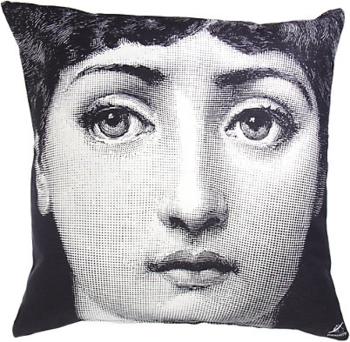 Fornasetti Tema Pillow - front