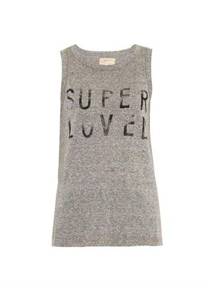Current Elliott Muscle Tee Printed Super Loved Tank Top