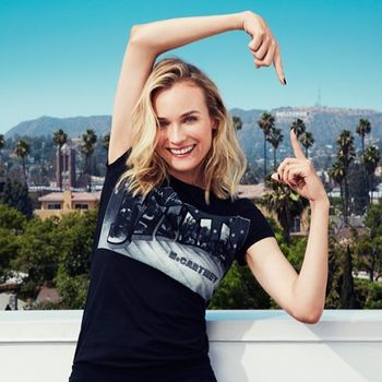 Instagram by Stella McCartney with Diane Kruger and Hollywood Sign - fffabulous